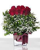 Diyarbakır çiçek servisi , çiçekçi adresleri  11 adet gül mika yada cam - anneler günü seçimi -