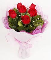 9 adet kaliteli görsel kirmizi gül  Diyarbakır anneler günü çiçek yolla