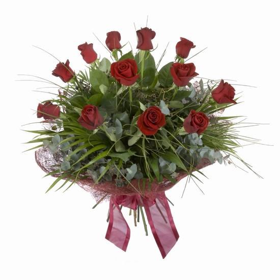 Etkileyici buket 11 adet kirmizi gül buketi  Diyarbakır online çiçekçi , çiçek siparişi