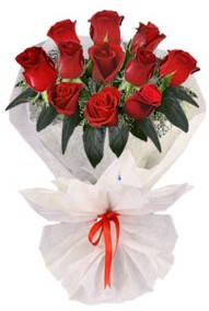 11 adet gül buketi  Diyarbakır İnternetten çiçek siparişi  kirmizi gül