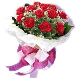 Diyarbakır çiçek online çiçek siparişi  11 adet kırmızı güllerden buket modeli