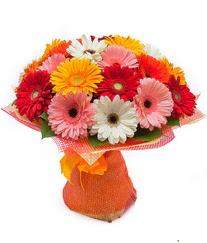 Renkli gerbera buketi  Diyarbakır ucuz çiçek gönder