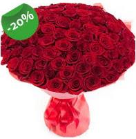 Özel mi Özel buket 101 adet kırmızı gül  Diyarbakır ucuz çiçek gönder