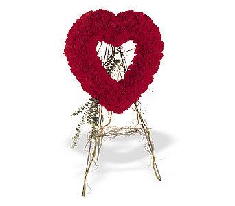 Diyarbakır online çiçekçi , çiçek siparişi  karanfillerden kalp pano