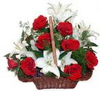 sepette gül ve kazablankalar   Diyarbakır güvenli kaliteli hızlı çiçek