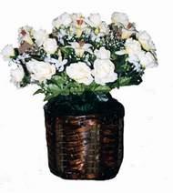 yapay karisik çiçek sepeti   Diyarbakır çiçek gönderme
