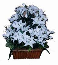 yapay karisik çiçek sepeti   Diyarbakır çiçek yolla