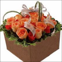 kare sandikta 11 gülllerden   Diyarbakır güvenli kaliteli hızlı çiçek