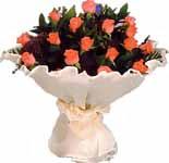 11 adet gonca gül buket   Diyarbakır uluslararası çiçek gönderme