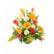karisik renkli çiçekler tanzim   Diyarbakır uluslararası çiçek gönderme
