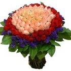 71 adet renkli gül buketi   Diyarbakır çiçek mağazası , çiçekçi adresleri