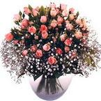 büyük cam fanusta güller   Diyarbakır 14 şubat sevgililer günü çiçek