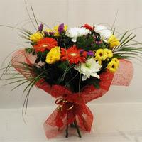 Diyarbakır kaliteli taze ve ucuz çiçekler  Karisik mevsim demeti
