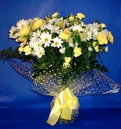 Diyarbakır kaliteli taze ve ucuz çiçekler  sade mevsim demeti buketi sade ve özel