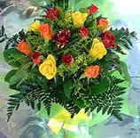 13 adet karisik gül buketi demeti   Diyarbakır çiçek satışı