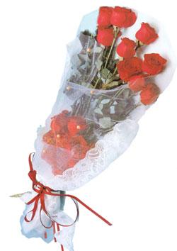 11 adet kirmizi güller buket tanzimi   Diyarbakır yurtiçi ve yurtdışı çiçek siparişi