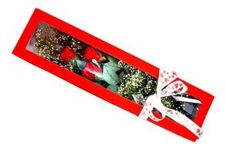 Diyarbakır kaliteli taze ve ucuz çiçekler  Kutuda 3 adet gül
