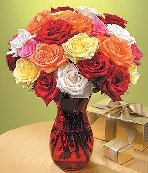 Diyarbakır ucuz çiçek gönder  13 adet renkli gül