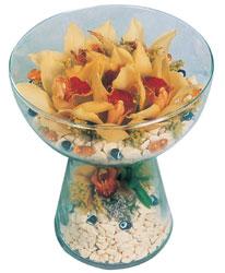Diyarbakır yurtiçi ve yurtdışı çiçek siparişi  Cam içerisinde 4 adet kandil orkide