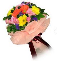 Diyarbakır güvenli kaliteli hızlı çiçek  Karisik mevsim çiçeklerinden demet
