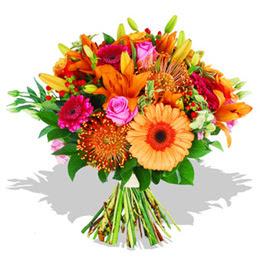 Diyarbakır hediye sevgilime hediye çiçek  Karisik kir çiçeklerinden görsel demet