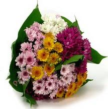 Diyarbakır hediye sevgilime hediye çiçek  Karisik kir çiçekleri demeti herkeze