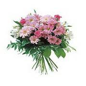 karisik kir çiçek demeti  Diyarbakır çiçek online çiçek siparişi