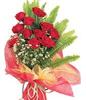11 adet kaliteli görsel kirmizi gül  Diyarbakır çiçek online çiçek siparişi