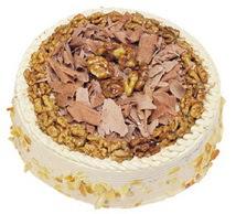Karamelli 4 ile 6 kisilik yas pasta  Diyarbakır 14 şubat sevgililer günü çiçek