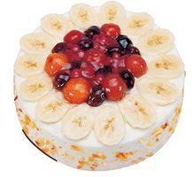 Meyvali 4 ile 6 kisilik yas pasta leziz  Diyarbakır çiçek mağazası , çiçekçi adresleri