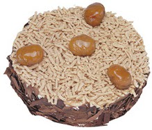 Kestahaneli yas pasta 4 ile 6 kisilik pasta  Diyarbakır yurtiçi ve yurtdışı çiçek siparişi