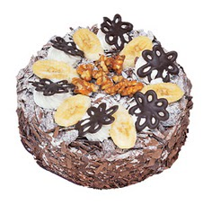 Muzlu çikolatali yas pasta 4 ile 6 kisilik   Diyarbakır çiçek satışı