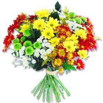 Kir çiçeklerinden buket modeli  Diyarbakır çiçek yolla