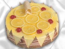 taze pastaci 4 ile 6 kisilik yas pasta limonlu yaspasta  Diyarbakır çiçek yolla