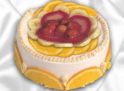 leziz pastane 4 ile 6 kisilik yas pasta meyvali yaspasta  Diyarbakır çiçekçiler