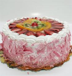 görsel pastacilar 4 ile 6 kisilik yas pasta karisik meyvali  Diyarbakır çiçekçi mağazası