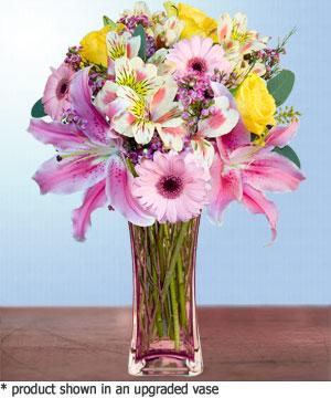 Anneme hediye karisik cam mevsim demeti  Diyarbakır İnternetten çiçek siparişi