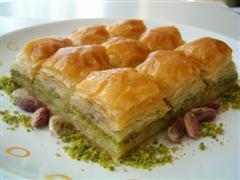 tatli siparisi essiz lezzette 1 kilo fistikli baklava  Diyarbakır yurtiçi ve yurtdışı çiçek siparişi