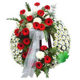 Cenaze çelengi cenaze çiçek modeli  Diyarbakır çiçek satışı