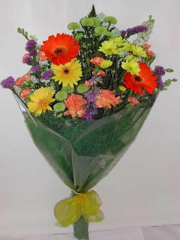 karisik kir çiçek buketi çiçek gönderimi  Diyarbakır çiçekçi telefonları