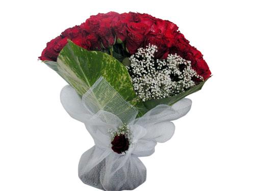 25 adet kirmizi gül görsel çiçek modeli  Diyarbakır çiçek siparişi sitesi