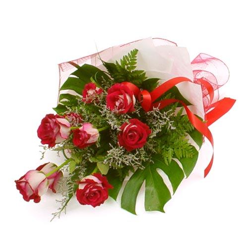 çiçek gönder 7 adet kirmizi gül buketi  Diyarbakır çiçekçiler