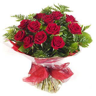 Ucuz Çiçek siparisi 11 kirmizi gül buketi  Diyarbakır çiçekçi mağazası