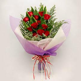 çiçekçi dükkanindan 11 adet gül buket  Diyarbakır güvenli kaliteli hızlı çiçek