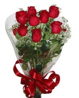 Çiçek sade gül buketi 7 güllü buket  Diyarbakır çiçek yolla