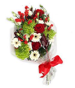 Karisik mevsim buketi çiçek tanzimi  Diyarbakır İnternetten çiçek siparişi