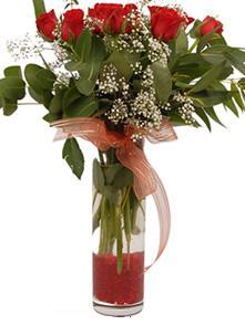 Diyarbakır çiçek satışı  11 adet kirmizi gül vazo çiçegi