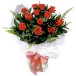 Diyarbakır çiçek servisi , çiçekçi adresleri  9 adet güzel bir gül buketi