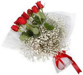 7 adet essiz kalitede kirmizi gül buketi  Diyarbakır hediye çiçek yolla