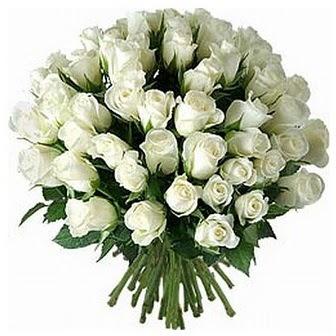 Diyarbakır çiçek siparişi sitesi  33 adet beyaz gül buketi
